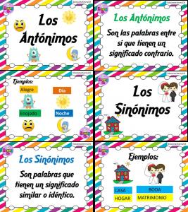 AntonimosSinonimos