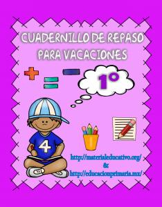 CuadernilloDeRepasoVacaciones1ero