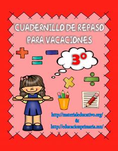 CuadernilloDeRepasoVacaciones3ero