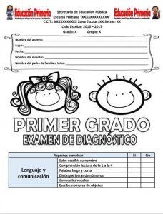 ExamenDiagnosticoPrimerGrado