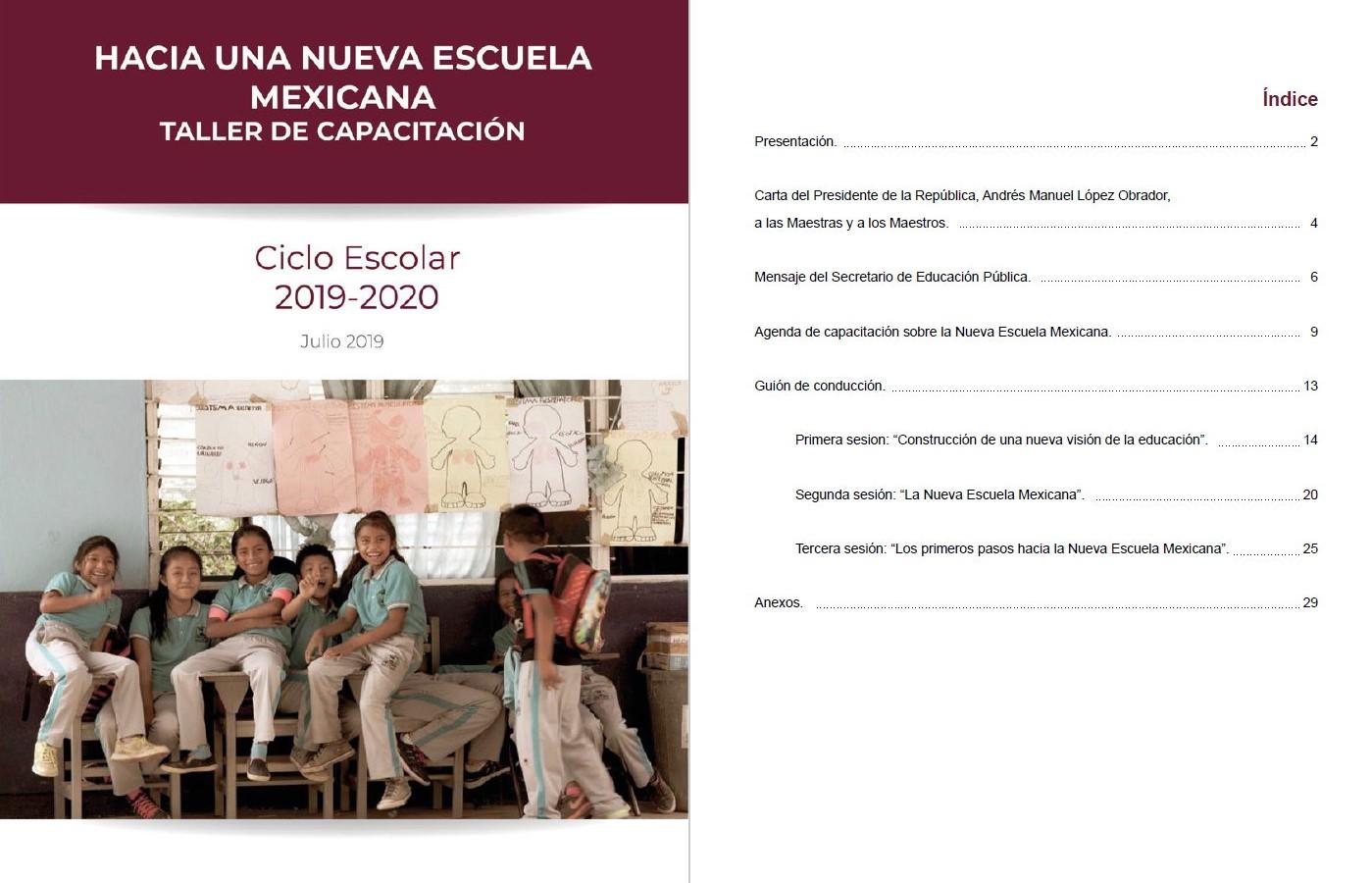 """Resultado de imagen para """"Hacia una Nueva Escuela Mexicana"""